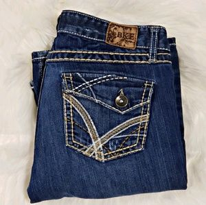 BKE boot stretch jeans size 27
